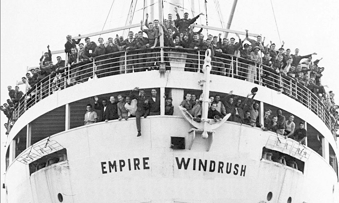 Preston Windrush Generation logo